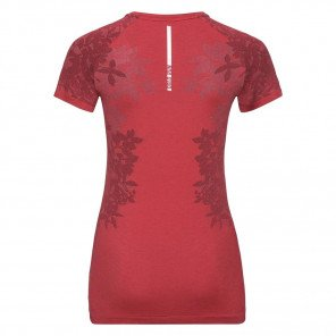 Tee-Shirt Odlo Céramicool Blackcomb Orange Brique pour Femme
