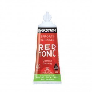Gel Red Tonic Overstim's saveur Menthe-Eucalyptus | Tube de 30g