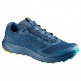 Chaussures de trail Salomon Sense Ride 2 Edition limitée Marathon du Mont-Blanc Poseidon/Poseidon/Bluebird unisexe - Vue de profil | 408987_ 1
