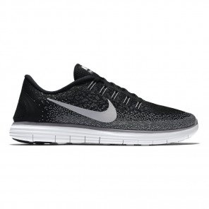 Chaussures running ultra-souple Nike Free RN Distance Black/White-Dark Grey-Wolf Grey pour femme | 827116-010_1