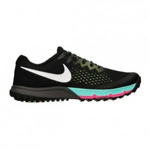Chaussures trail running légère Nike Air Zoom Terra Kiger 4 black/white/volt/turquoise pour femme | 880564-001_1