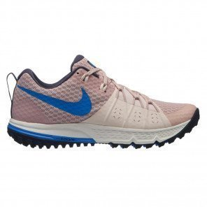 Chaussures trail running Nike Air Zoom Wildhorse 4 Particle Beige/Signal Blue pour femme | 880566-200_1