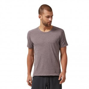 On Running Tee-shirt Active-T Mauve pour Homme