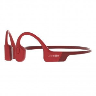 Casque audio sans fil à conduction osseuse Aftershokz Aeropex Red | AS800-RED