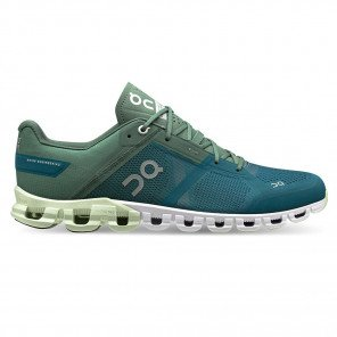 Chaussures de running pour coureur neutre, dynamique pour l'entraînement et les compétition On Cloudflow Sea/Petrol pour Homme | 25.99637_1