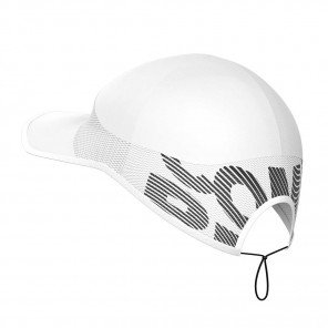 Casquette Compressport Pro Racing Cap Blanche