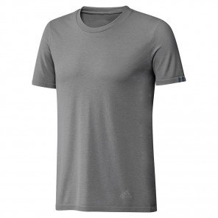 Tee-shirt de course adidas 25/7 Grey Four pour homme | DZ1811_1