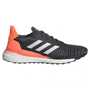 Chaussures d'entraînement running adidas Solar Glide 19 Grey Six / Cloud White / Signal Coral pour homme | EE4297_1