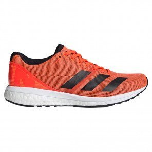 adidas Adizero Boston 8 Orange et Noire pour Femme