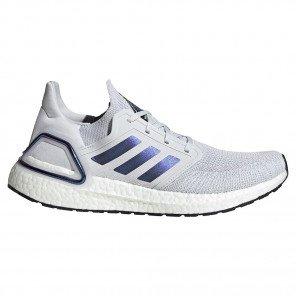 Chaussures running haute performance adidas Ultraboost 20 Dash Grey/Boost Blue Violet Met./Core Black pour homme | EG0695_1