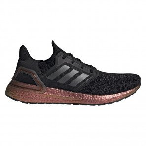 Chaussures entraînement running confort maximum adidas Ultraboost 20 M Core Black / Grey Five / Signal Pink pour homme | EG9749_1