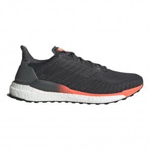 Chaussures entraînement marathon adidas Solarboost 19 Grey Six / Core Black / Signal Coral pour homme | EH3503_1