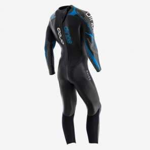 Combinaison en néoprène de Triathlon Orca Equip Noire et Bleue pour Homme