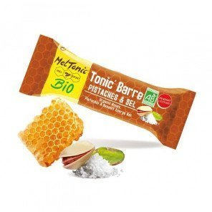 MELTONIC Tonic' Barre Miel-Pistaches et Sel | Etui de 5 barres