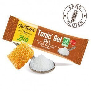 MELTONIC Tonic' Gel Salé Miel-Fleur de Sel-Gelée Royale | Etui de 8 sticks