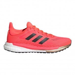 Chaussures entraînement running régulier et soutenu adidas Solar Glide 3 W Signal Pink / Core Black / Copper Metallic pour femme | FV7258_1