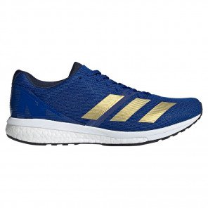 Chaussures de course adidas Adizero Boston 8 Collegiate Royal/Gold Met./Cloud White pour homme | G28859_1