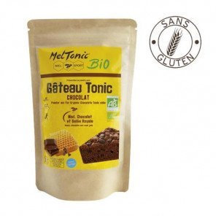 Gâteau énergétique d'avant effort Meltonic Gâteau Tonic saveur Chocolat-Miel-Gelée Royale | 140987