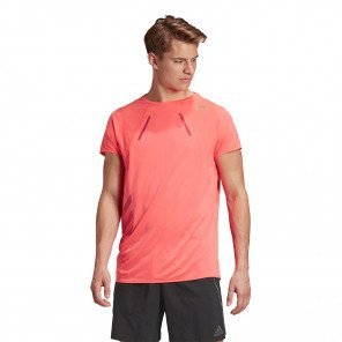 Tee-shirt technique de course adidas HEAT.RDY TEE M Signal Pink pour homme | GK3425_1