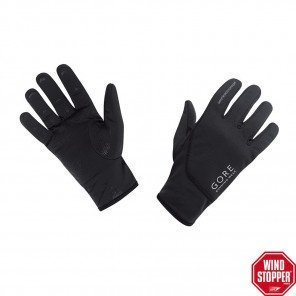 Gants Gore Running Wear Essential Windstopper Softshell Noirs Mixtes