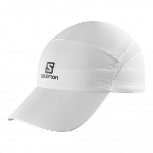 Casquette running légère et respirante Salomon XA CAP White/White mixte | C10370_1