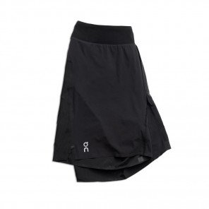 Short de running On Running Lightweight Shorts Black pour homme | 125.00133_1