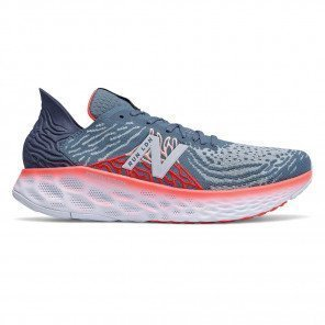 Chaussures entraînement ultra-confort New Balance Fresh Foam M1080L10 London Edition Light Slate with Energy Red pour homme - Largeur D (Standard) | 807821-60-12-D_1