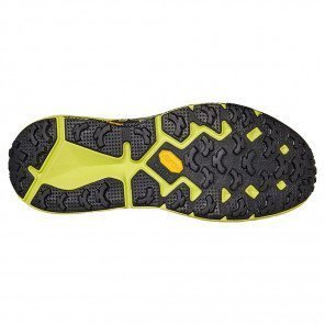 Hoka One One EVO Speedgoat Noire et Jaune fluo pour Homme