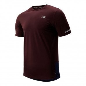 Tee-shirt de course New Balance Ice 2.0 Henna pour homme | MT81200HNA_1