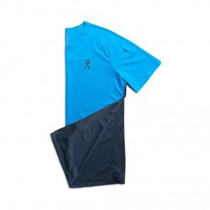 Tee-Shirt Homme On Performance Bleu / Marine Face