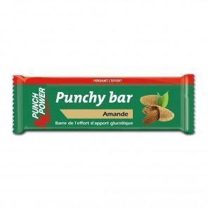 Punch Power Punchybar saveur Amande | Barre de 30g