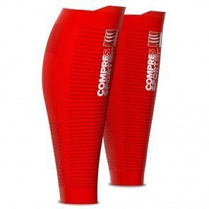 Manchons de Compression Compressport Airvolution Oxygen Rouge