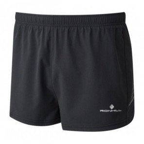 Short de running technique et fonctionnel Ronhill Racer Cargo Stride All Black pour homme | RH-003823-009_1