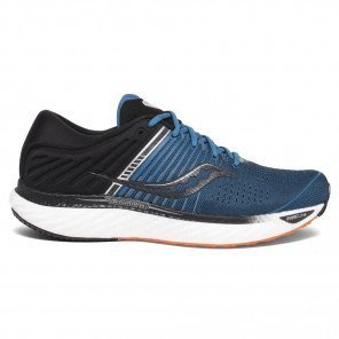 Saucony Triumph 17 Bleue et Noire pour Homme