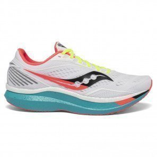 Chaussures running entraînement tempo et compétition Saucony Endorphin Speed White Mutant pour homme | S20597-10_1