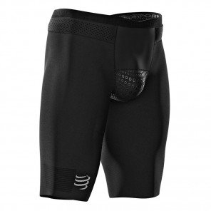 Cuissard Compressport Triathlon Under Control V3 Noir pour Homme