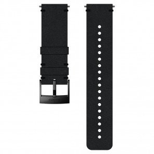 Bracelet Cuir Suunto Urban 2 24mm Noir - Taille M