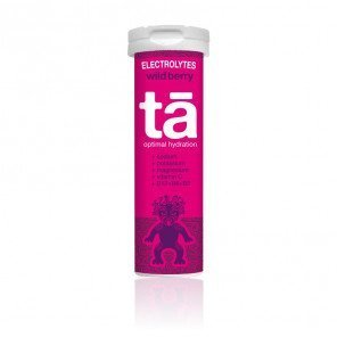 Tubes de 12 pastilles effervescentes d'électrolytes TA Energy saveur Wild Berry | 00103