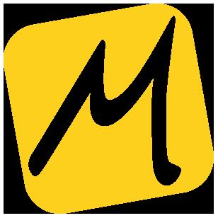 New Balance 1080v10 Jaune et Bleue pour Femme - Largeur B (Standard)