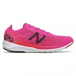 Chaussures de course New Balance 890v7 Rose et Noire pour femme - Largeur B (Standard) | W890PO7_1