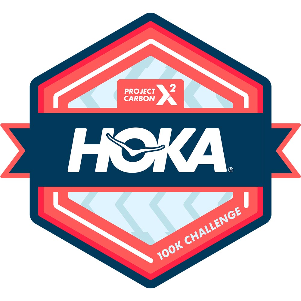 Gana tu insignia virtual HOKA Project Carbon X 2 100k Challenge