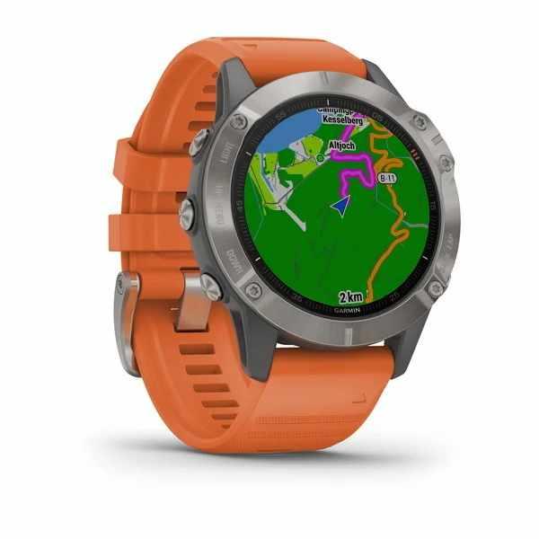 Fenix 6 avec cartographie intégrée